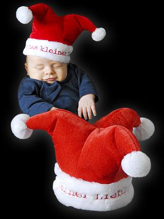 38d100c538b4f Chapeau de Noël pour Bébé. Taille du Bonnet +- 43 cm de diamètre. Matière  douce et résistante.